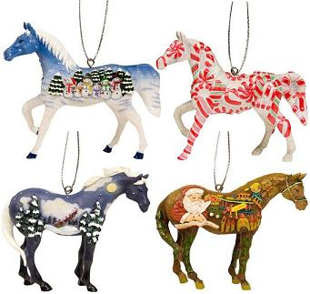 Trail of the Painted Ponies, Christmas 2008 Ornament Set