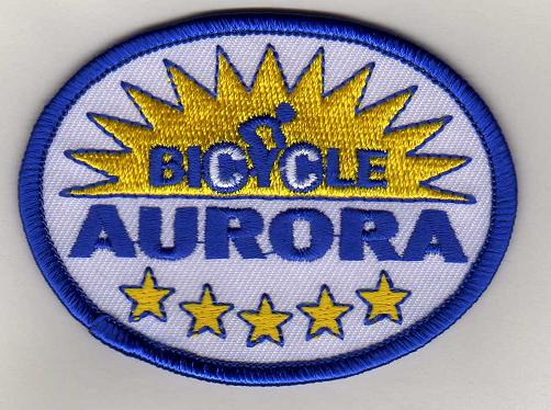 Bicycle Aurora Patch