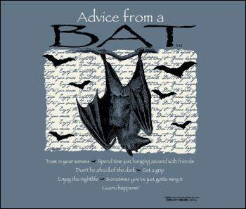 Advice from a Bat, Large Sweatshirt