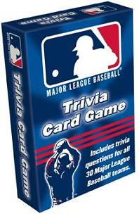 Major League Baseball Trivia Card Game