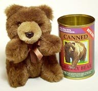 Canned Grizzly Bear