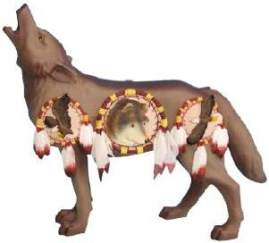 Dream Catcher Wolf